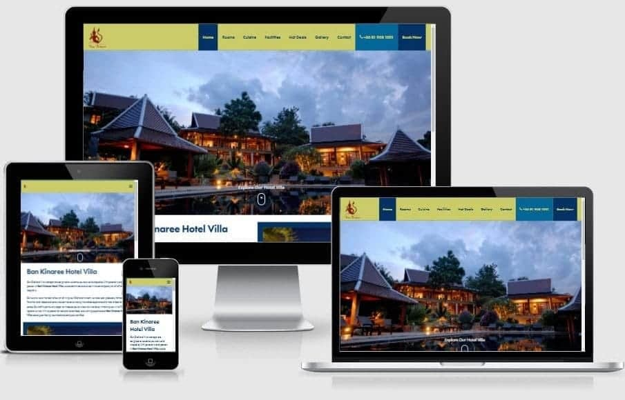 Hospitality Web Design