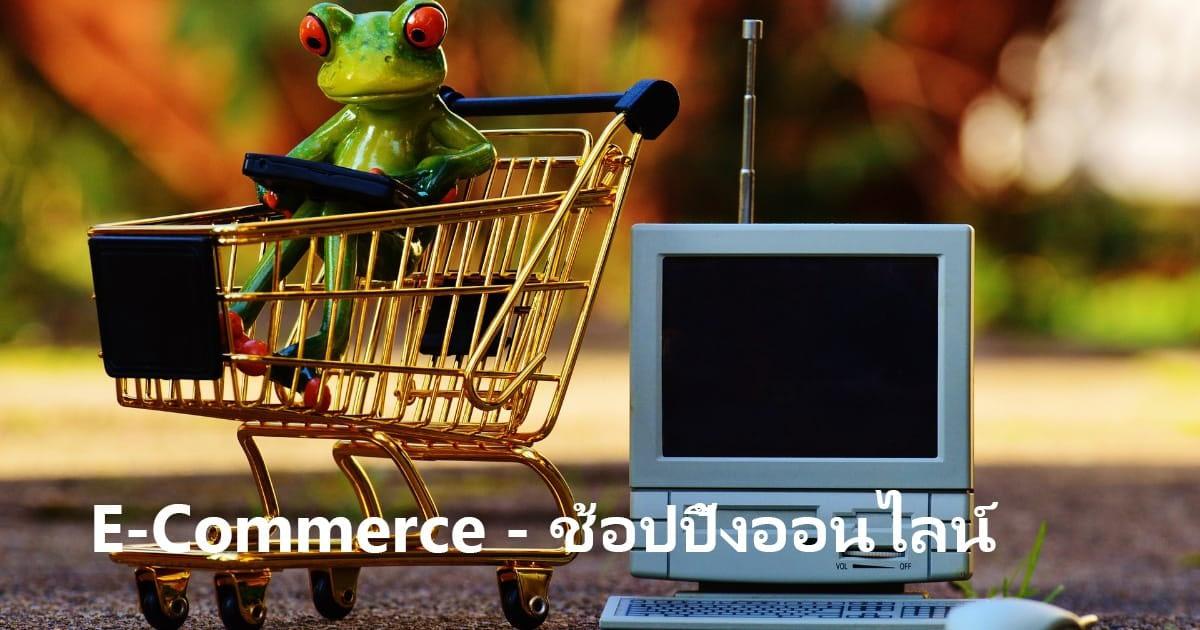 E-Commerce - ช้อปปิ้งออนไลน์