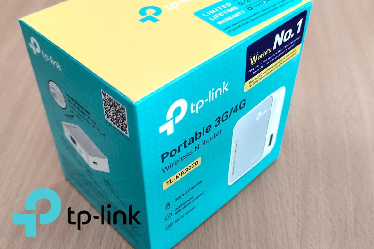 TL-MR3020 - Portable 3G-4G Wireless N Router